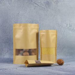 Lege zakje Goedkope 5L vouwbare voeding/Vape pen/Sieraden/Tote verpakking biologisch afbreekbaar plastic Transparante strandtas PE/OPP-vuilniszakken