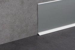 Aluminiumsockelleiste 40/50/60/80/100