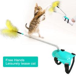 Venda por grosso Funny Interactive Gatos Gatinho Feather Cat brinquedos para venda