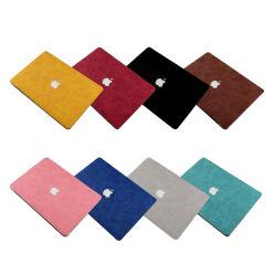 Cuir synthétique pour ordinateur portable à usage intensif de la peau du manchon d'ordinateur portable MacBook pour 11.6 Autocollant couvercle de l'air A1370/A1465 13.3 l'air A1466/A1369/A1932/A2179 15,4 PRO A1707/A1990