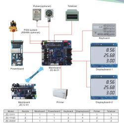 ZCHENG dispensador de combustível do computador de controle