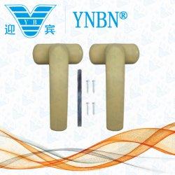 Nuova maniglia di disegno Yb-11-2 con il vestito quadrato dell'asse di rotazione al portello di alluminio e finestra dalla fabbrica di Yingbin