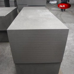 Grafito de grano fino del intercambiador de calor redondo del bloque de grafito