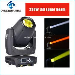 LED 230W 250W local de Lavagem do feixe de luz de movimentação de híbridos
