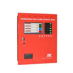 Écran tactile LCD Aw-Fp100 Affichage de panneaux de contrôle d'alarme incendie adressables
