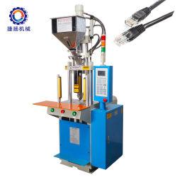 Utiliza el PVC Vertical el cable USB precio máquina de moldeo por inyección de plástico