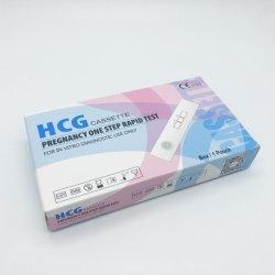 Zwangerschap Één Cassette van de Test HCG van de Stap de Snelle