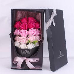 زهرة زهرة زهرة الصابون الصناعية على طراز أمازون عيد الحب 7PCS باقة من الهدايا للزفاف
