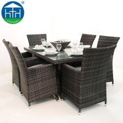 Плетеная патио ресторан, сад плетеной стул открытый ресторан мебель