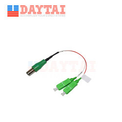 Wdmを用いるDaytai受動FTTH CATVの光レシーバ