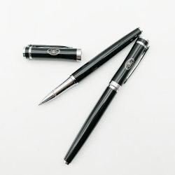 Promoção de negócios com caneta esferográfica de metal logotipo personalizado