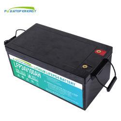 Pack de batterie au lithium 24V100ah 150Ah pour Rue lumière solaire pour remplacer la batterie SLA Tranditional&AGM