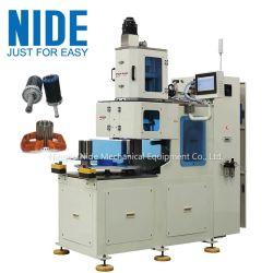 Estações Doubole automática máquina de enrolamento da bobina do estator de 2 pólos, 4 pólos e 6 Pólos enrolamento de bobinas