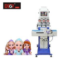 タンポンの空気のパッドの印字機の高品質の人形のための半自動多色刷りのパッドプリンター