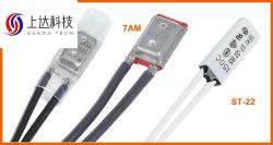 Interruptor de control de temperatura de 17am a 60 grados ~ 180 grados de temperatura Ultra Protector Térmico Interruptor de temperatura