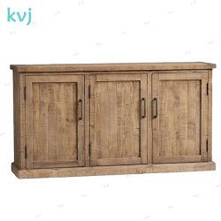 Vintage-7320 Kvj Buffet sólidos de madeira rústica valorizadas Armário Fir
