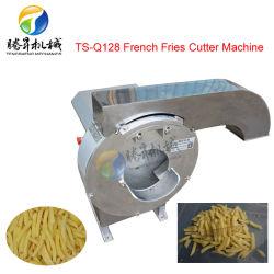 La nourriture industrielle de la machine la pomme de terre frites Machine de découpe de bandes de fruits de la Patate douce tranchage Machine (TS-Q128)