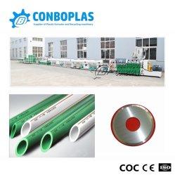 プラスチック4inchは3層の熱い冷水PPRの管の放出の生産ラインを選抜する
