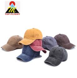 洗浄された苦しめられたカスタム印刷の刺繍のスポーツのゴルフ帽子の野球帽