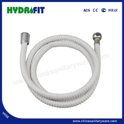 Venda a quente rosqueado reforçado de PVC flexível de borracha para banho loiça sanitária (HY6021)