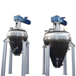 Haut de la poudre chimique précis vis conique verticale double cône ruban/sécheur de mélangeur de Blender