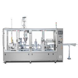 مصنع سانى Automatic Double Heads Auger Dosing System القهوة عصير النسبرسو السائل المسحوق السائل يخفّف من جلّ آلة التغليف لمنع التسرب