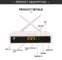 Gpon Ont 2X2 11n WiFi Ap até 300Mbps Conectividade Sem Fio