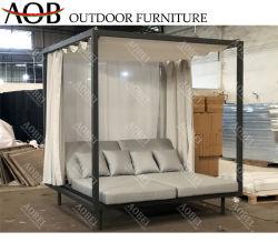 Aobei Luxe modern Garden Hotel Home Resort Villa Outdoor meubilair Daybed Cabana Gazebo Solarium slaapbank
