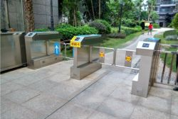 Trappe de porte de tourniquet RFID la barrière de sécurité pour la sécurité Conroling