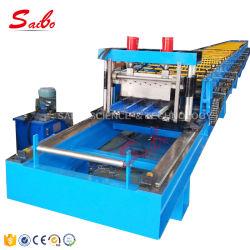Металлический Пол декорированных формовочная машина с толщиной среза 0.8-1.5 мм