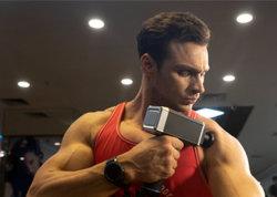 Ordinateur de poche sans fil professionnel Hypervolt Fasica Muscle Massage Profond des Tissus Gun Salle de Gym Fitness masseur du corps