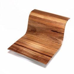 Material de la pared de aluminio ignífugo Hoja ACP Panel Compuesto de Aluminio de grano de madera