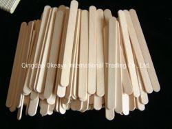 Fsc Opruier de van uitstekende kwaliteit van Cooffee van de Stok van het Roomijs van het Berkehout