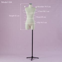 ヨーロッパのサイズ型花嫁の服の表示のためのメスファブリック胴のマネキン