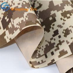 준비된 스톡 카모 인쇄 폴리에스테르 나일론 600d/300d/450d PU/PE/PVC 코팅지 텐트 및 가방을 위한 옥스포드 패브릭