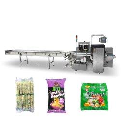 빵집 빵 롤빵 또는 즉석 면 또는 건빵 감싸거나 밀봉하거나 충전물 기계 기계장치 또는 포장 기계를 포장하는 자동적인 교류 또는 베개 팩 /Horizontal