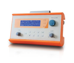 Hv 100e 병원 의료 기기 호흡 기계 구급차 수송 휴대용 ICU 통풍기