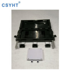 Im FreienIP65 imprägniern 24 Faser-Optikendpunkt-Verteilerkasten des Kern-FTTH mit Teiler-Kassette