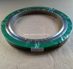 ASME B16.20 metalen afdichting RF koolstofstaal roestvrij staal SS304 SS316 en flexibele grafietspiraalgewikkelde pakking