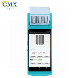 جهاز Smart Wireless Android Handheld POS Termina مع الطابعة