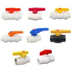 アメリカ標準グレー PVC PPR ボールプラスチックバルブ