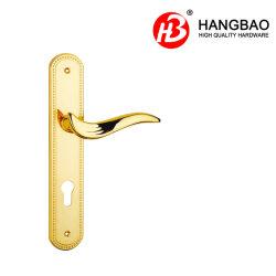 亜鉛長い版が付いている表玄関のハードウェアのホームロック部屋のドアのレバーハンドル