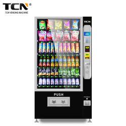 Tcn 식사 음료 찬 음료 맥주 우유 세륨과 ISO9001 증명서를 가진 자동적인 결합 자동 판매기