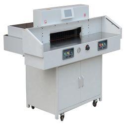 550mm maquinário hidráulico com guilhotina papel LCD programável