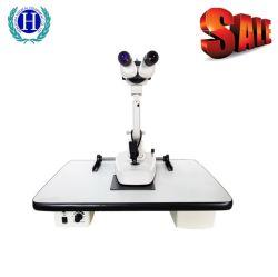Lamp van de Spleet van het Instrument van de Microscoop van de oog LEIDENE van de Machine van de Test van het Oog van de Apparatuur de Digitale Lamp van de Spleet Optische Oog