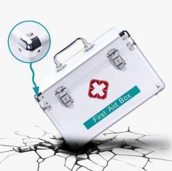 Erste Hilfe Aluminium Kits Medizinische Sanitäter Ärzte Fall