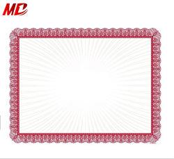 A4 de fábrica de papel certificado certificado en papel de color impreso de cubierta