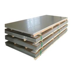 La norma ASTM 201 301 304 316 AISI 316L 410 Ss frío/calor de la hoja de acero inoxidable laminado placa personalizada con relieves de la línea de pelo/superficie corrugada/Precio al por mayor de la fábrica