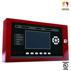 Liste UL d'incendie intelligente à distance du système d'alarme indicateur LCD DT122r