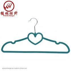 2019 حارّة عمليّة بيع اللون الأخضر قلب يشكّل مخمل [كلوثس هنجر] [مولتيفوكأيشنل] بلاستيكيّة لباس داخليّ علاّق